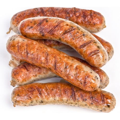 Pork Link Sausages - German, Bratwurst, Italian